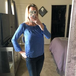 Maette by Stella & Dot Gemma off the shoulder top